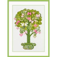 Риолис 684870 1295 Набор для вышивания Riolis 'Дерево счастья', 21*30 см