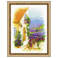 Риолис 901872 1689 Набор для вышивания Риолис 'Прованская улочка' 18*24 см