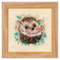 Риолис 904047 1753 Набор для вышивания Риолис 'Маленький ёжик' 13*13см