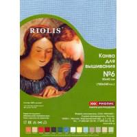 Риолис Канва в упаковке РИОЛИС, 30х40 (№4; 5,5; 6)  хлопок, лен Канва в упаковке РИОЛИС, 30х40 (№4; 5,5; 6)  хлопок, лен