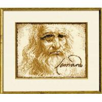 Риолис N0001820 412 Набор для вышивания Риолис 'Портрет Леонардо да Винчи', 28x35см
