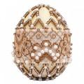 Риолис В214 Набор для бисероплетения Яйцо пасхальное. Капучино