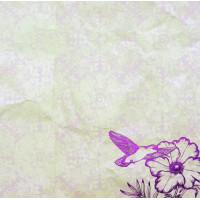"Рукоделие 210920-001-08 Бумага ""Artie Vintage Rose"" (фольга)"