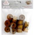 Рукоделие 7194 Катушки деревянные декоративные