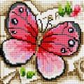 Рукоделие AZM2020/B-001 Розовая бабочка