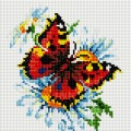 Рукоделие AZM2020/B-004 Яркая бабочка