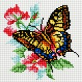 Рукоделие AZM2020/B-005 Бабочка и роза