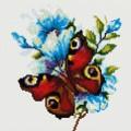 Рукоделие AZM2020/B-006 Бабочка в цвету
