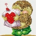 Рукоделие AZM2020/D-013 Ёжик с сердечком