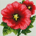 Рукоделие AZM2020/Z-009 Красный цветок