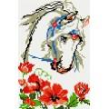 Рукоделие AZM2030/J-004 Лошадь в маках