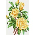 Рукоделие AZM2030/Z-001 Желтые розы
