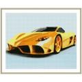 Рукоделие AZM4050/AV-001 Жёлтый автомобиль