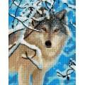 Рукоделие AZM4050/J-028 Волк зимой