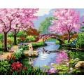 Рукоделие AZM4050/P-006 Японский сад