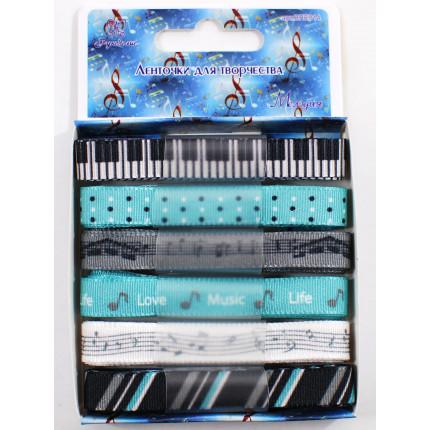 Ленточки для творчества «Рукоделие» Набор BPE014 Мелодия (арт. BPE-014)