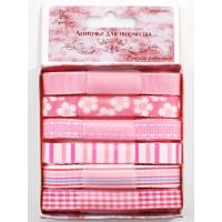 Рукоделие BPС-001 Ленточки для творчества «Рукоделие» Набор BPС001 Розовая фантазия