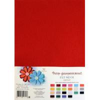 Рукоделие FLT-S2-01 Фетр декоративный (красный)