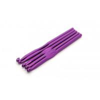 Рукоделие KAO/6.0 Крючок KAO/6.0 вязальный односторонний алюминиевый 6,0мм