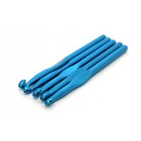 Рукоделие KAO/8.0 Крючок KAO/8.0 вязальный односторонний алюминиевый 8,0мм