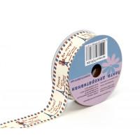 """Рукоделие PCR-004_1 Лента декоративная принтованная """"Рукоделие"""" PCR-004 25мм*3м"""