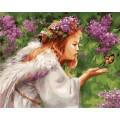 Рукоделие RN4050/A-004 Ангел и бабочка