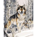 Рукоделие RN4050/J-002 Волк зимой