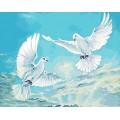 Рукоделие RN4050/J-020 Любовь и голуби