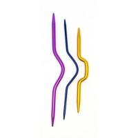 "Рукоделие SVK/AS-01 Спицы изогнутые SVK/AS-01 ""Рукоделие"" д/вязания кос, 3шт. (10см х 4,0мм, 12см х 2,4мм, 13см х 4,0мм)"