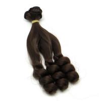 Рукоделие TRK-01/15-010 Трессы - кудри для кукол цвет: черный кофе