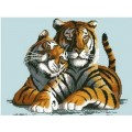 Русская сказка А-1181 Два тигра