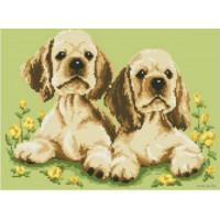 Русская сказка А-1252 Два щенка