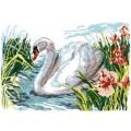 Русская сказка А-1343 Белый лебедь