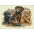 Русская сказка А-1570 Три щенка с ботинком