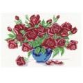 Русская сказка А-289 Ваза с розами