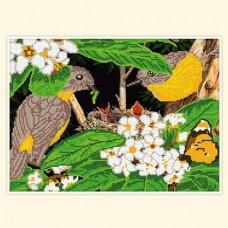 Набор для вышивания АПН-043 Птички
