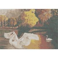 Русская сказка БП-П-008 Лебеди, 33х45 см - 13 цветов