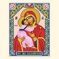 Русская сказка МБН-010 Владимирская икона Пресвятой Богородицы
