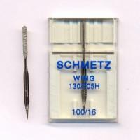 Schmetz Игла SCHMETZ 130/705H 100, для мережки Игла SCHMETZ 130/705H WING 100/16, для мережки