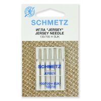 Schmetz Иглы джерси 130/705H SUK № 100, 5 шт. Schmetz Иглы джерси 130/705H SUK № 100/16, 5 шт. Schmetz 0701204