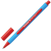 "SCHNEIDER 152002 Ручка шариковая SCHNEIDER (Германия) ""Slider Edge F"", КРАСНАЯ, трехгранная, узел 0,8 мм, линия письма 0,4 мм, 152002"