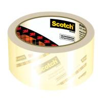 SCOTCH (3M) A2J Клейкая лента упаковочная 48 мм х 50 м, прозрачная, ЭКОНОМ, толщина 40 микрон, SCOTCH, A2J