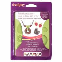 """Sculpey  """"Sculpey"""" Cabochon Shapes форма для изготовления полубусин APM81"""