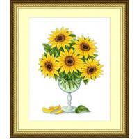 Сделано с любовью 00000019948 Набор для вышивания «Сделано с любовью» ЦВ-028 Солнце в бокале
