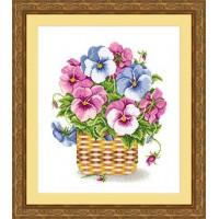 Сделано с любовью 00000037023 Набор для вышивания «Сделано с любовью» ЦВ-042 Нежность