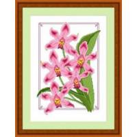 Сделано с любовью 018 Набор для вышивания «Сделано с любовью» ЦВ-018 Дикая орхидея
