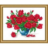 Сделано с любовью ЦВ-013 Набор для вышивания «Сделано с любовью» ЦВ-013 Розы для любимой