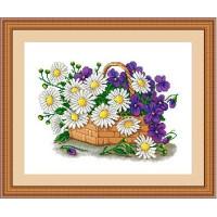 Сделано с любовью ЦВ-014 Набор для вышивания «Сделано с любовью» ЦВ-014 Цветы для мамы