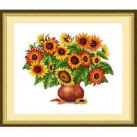 Сделано с любовью ЦВ-031 Набор для вышивания «Сделано с любовью» ЦВ-031 Букет солнечного света