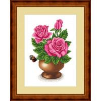 Сделано с любовью ЦВ-037 Набор для вышивания «Сделано с любовью» ЦВ-037 Розовое утро